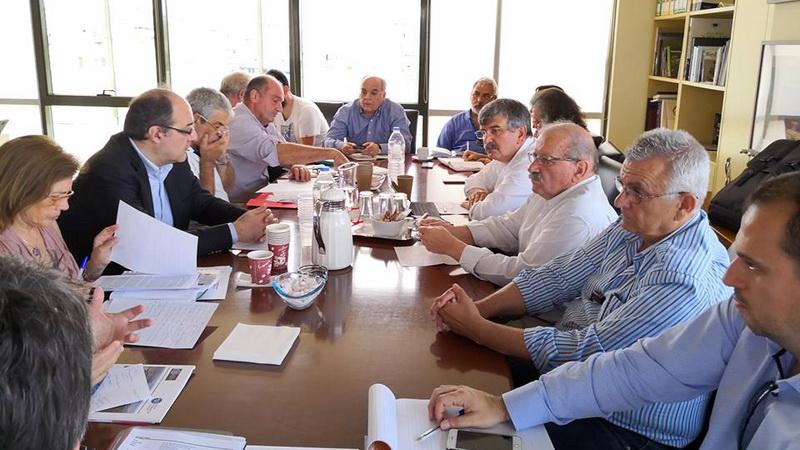 Ευρεία σύσκεψη στο Υπουργείο Περιβάλλοντος για την ολοκληρωμένη διαχείριση των υδάτων στον Έβρο