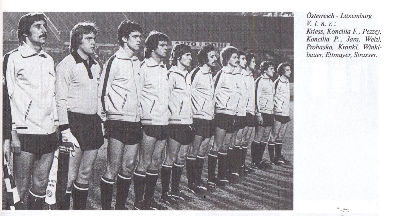 soccer nostalgia compendium to the 1976 euros qualifiers  fu%c3%83%c2%9fball sweatshirts c 7 #3