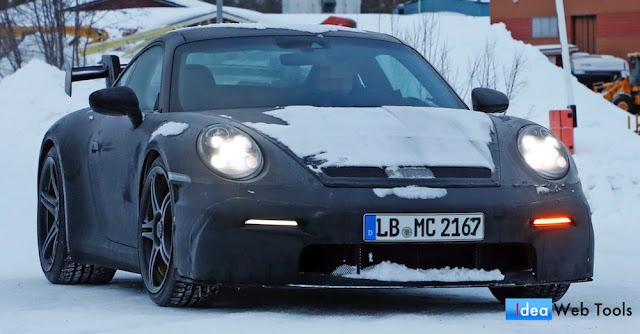 ポルシェの新型「911(992)」の高性能バージョン「911GT3」が市販化に向けて開発中。