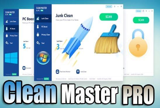 تحميل وتفعيل برنامج Clean Master Pro عملاق تنظيف وتسريع الكمبيوتر اخر اصدار