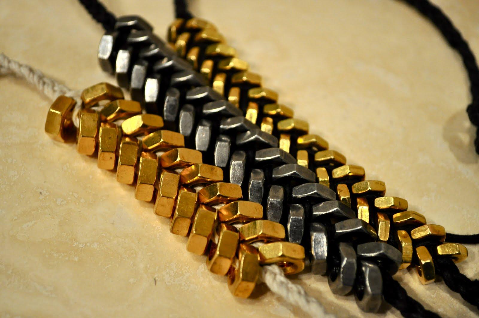 Tiy Hex Nut Bracelets