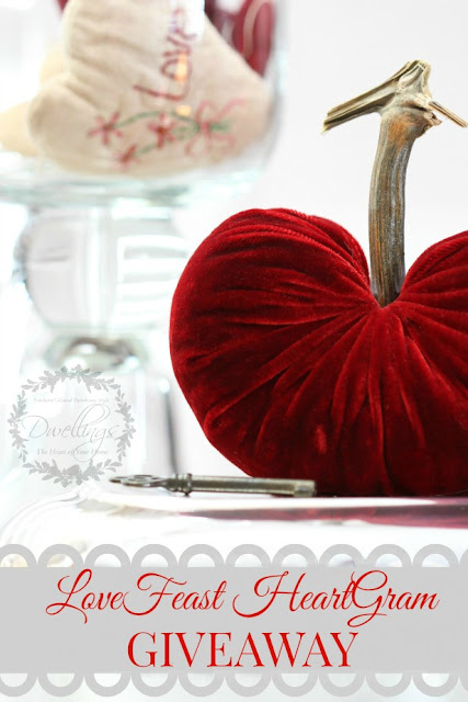 Enter the LoveFeast HeartGram Valentine Giveaway!