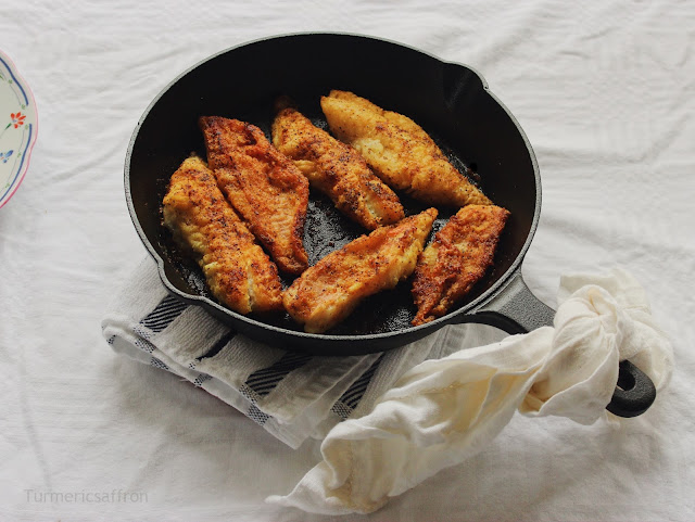 Iranian Mahi (Fish) Crispy Pan Fried