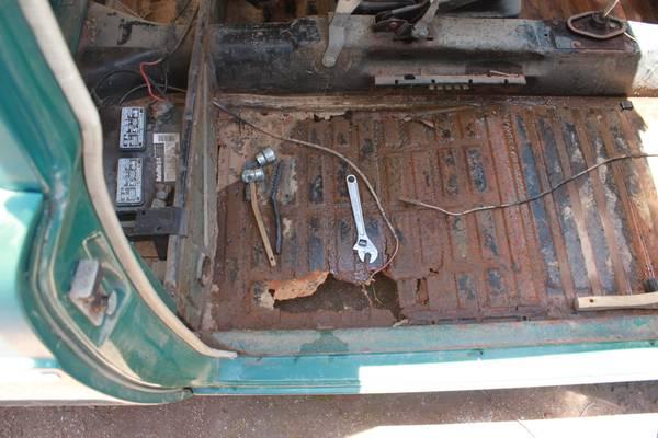 Vw Type 3 Floor Pans Ourcozycatcottage