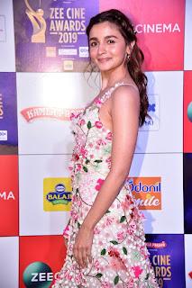 Alia Bhatt At Zee Cine Awards 2019