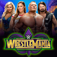 Final WrestleMania 34 Betting Odds