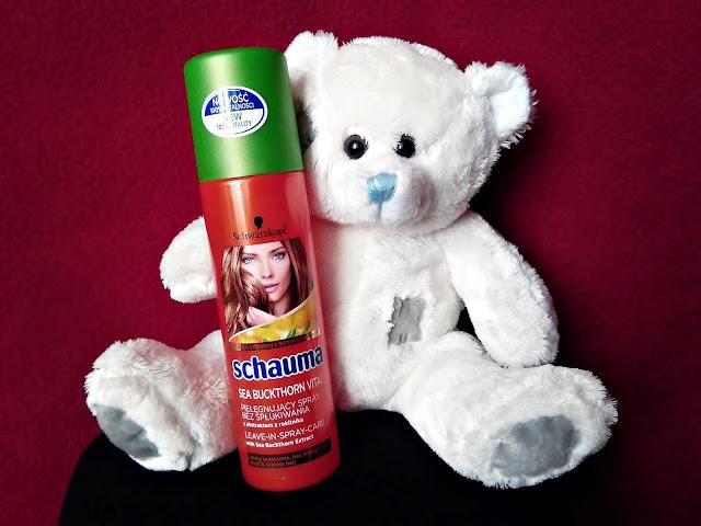Schwarzkopf, Schauma - Sea Buckthorn Vital - Pielęgnujący spray bez spłukiwania z ekstraktem z rokitnika, do włosów osłabionych i bez energii