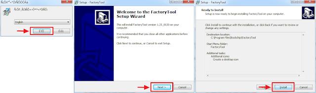 Install factoey tool v1.25.0630