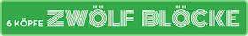 6 Köpfe - 12 Blöcke | Header zum Mitnehmen