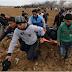 Foto Bentrokan mulai memakan korban, setelah pernyataan Donald Trump terkait kota Yerussalem