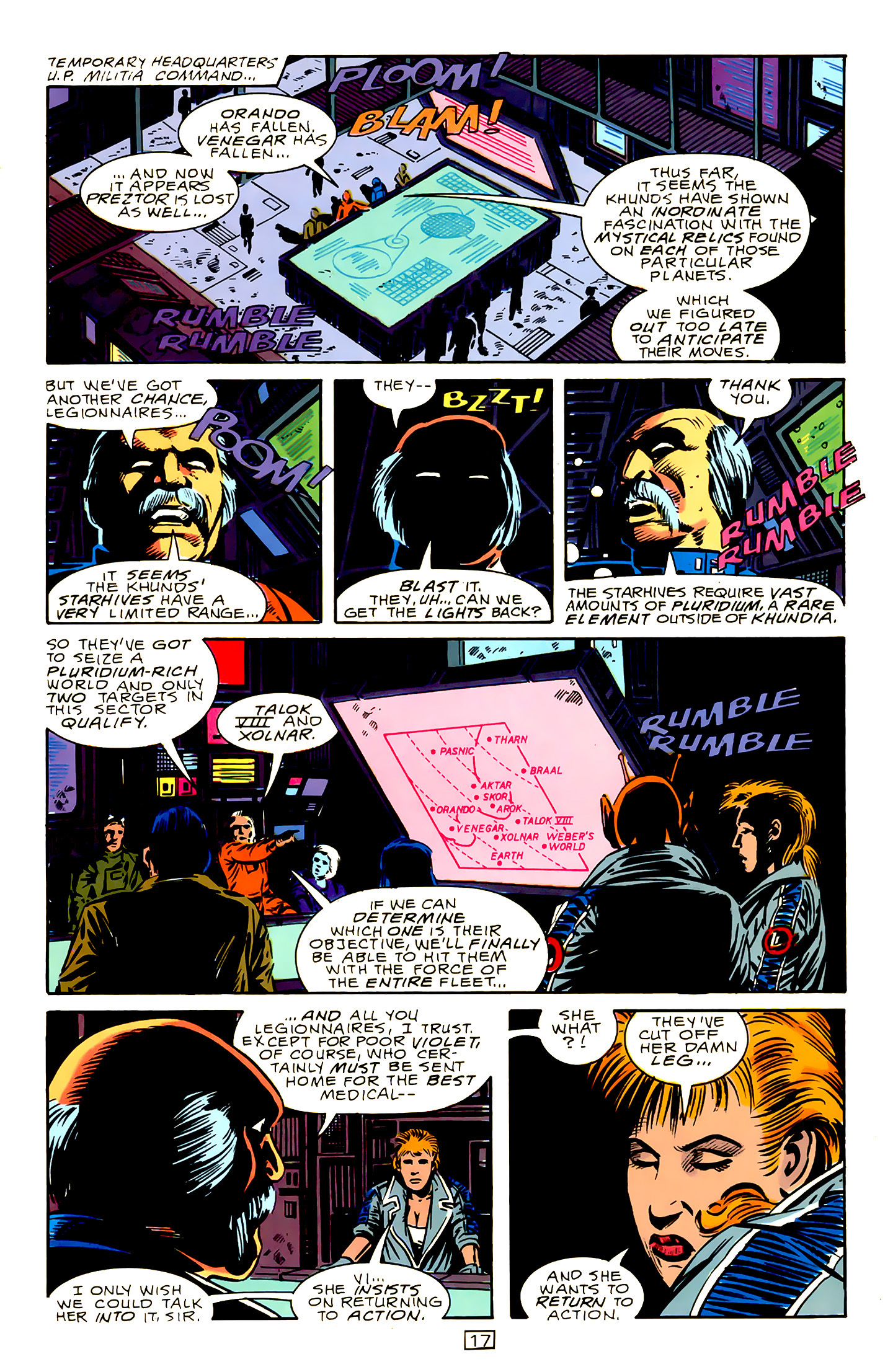 Legion of Super-Heroes (1989) 15 Page 17