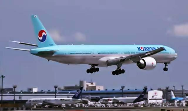 pesawat korean Air