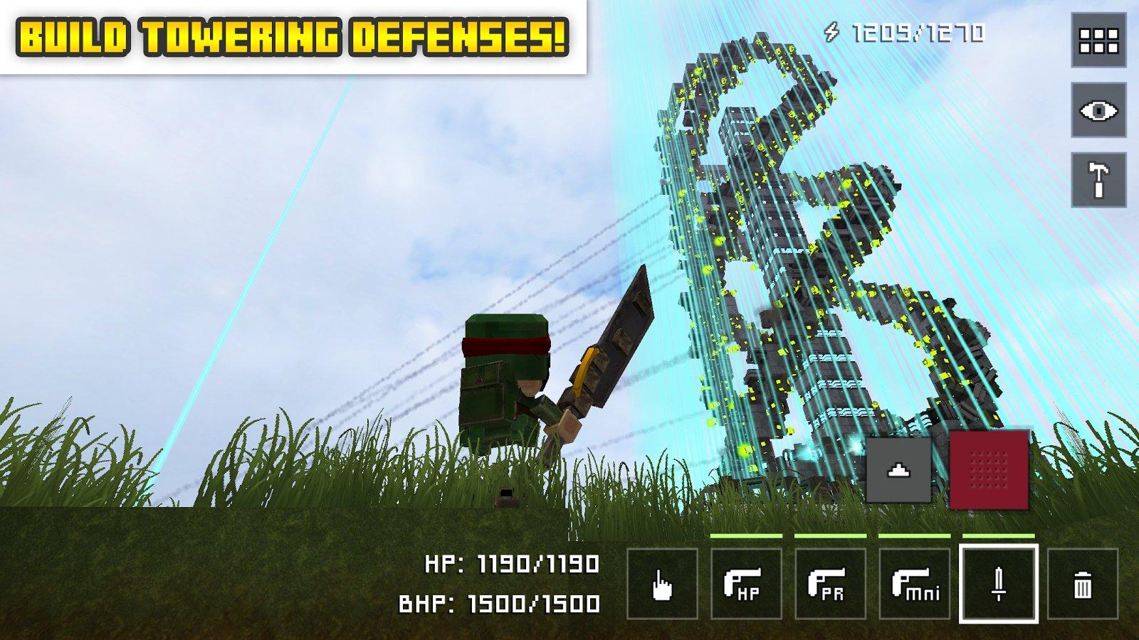 Block Fortress War Hack 1 00 15 3 Mod Unlimited Money Apk