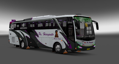 Skin Livery & Alpha Haryanto For EP3