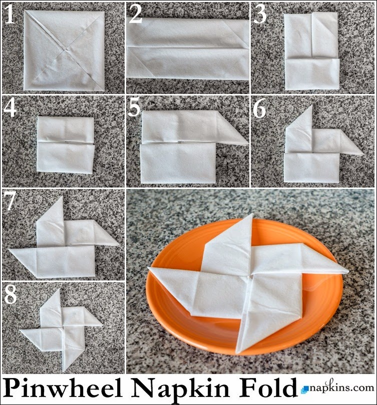Origami Candle Instructions
