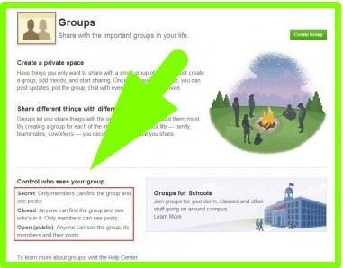 how to create a secret facebook group