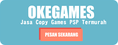 Jasa Copy Game PSP Murah Jogja