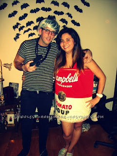 andy warhol and campbell soup halloween costume