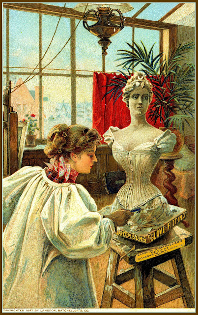 page 184 --- Thomson's Corsets, New Home Sewing Machine Company