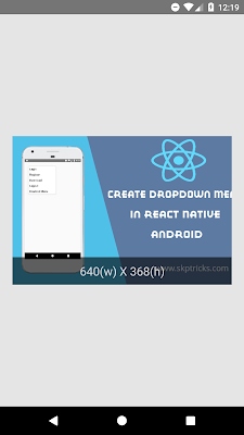React Native Get Remote Image Dimensions Android iOS