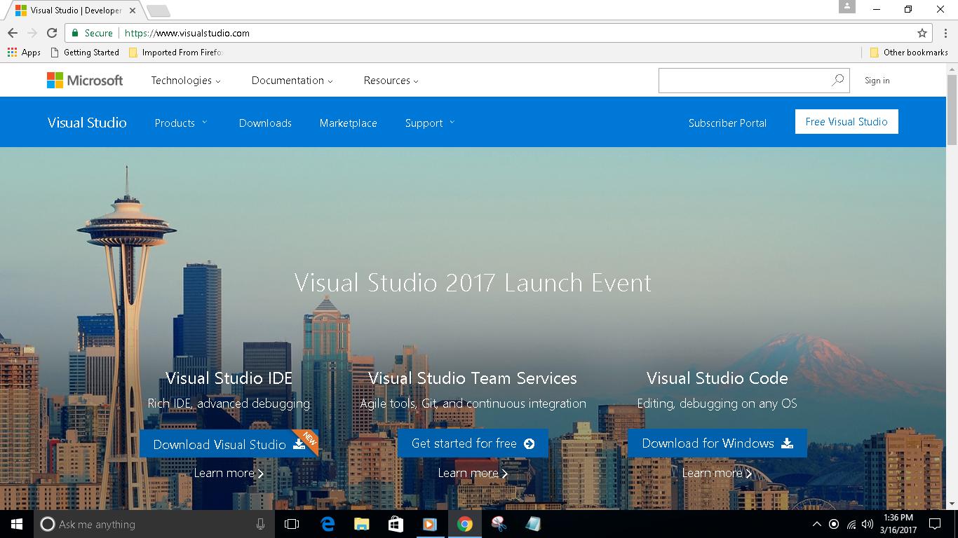 Naheez Thawfeeg's Blog: Visual Studio Code