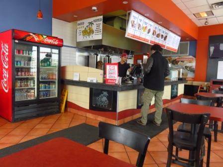 I ordered a chicken shawarma combo and Shahid ordered a falafel combo. & Teena in Toronto: Chef\u0027s Door Oakville ON