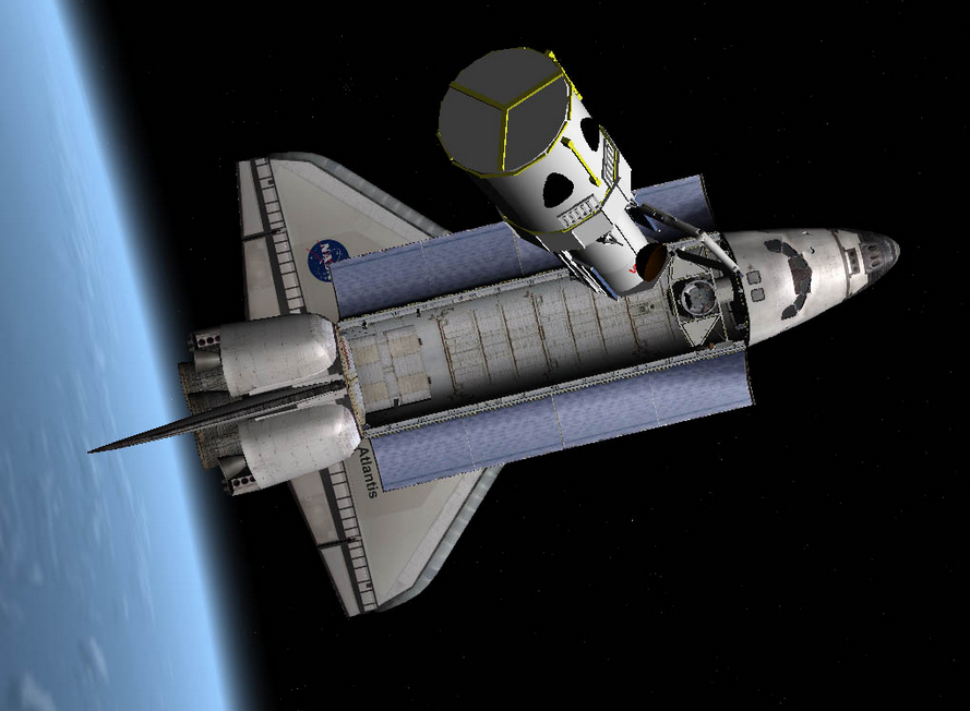 SimTech2Ks mighty little Blog Orbiter Space Flight