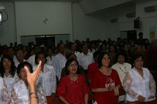 Peringatan Kemerdekaan RI Ke-65 GPIB SHALOM