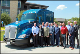 Melton Truck Lines 5,000th Kenworth
