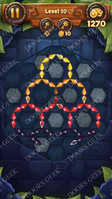 Gems & Magic [Tourmaline] Level 10 Solution, Walkthrough, Cheats