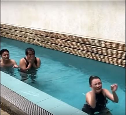 Angelica Panganiban Had A Nip Slip While Swimming!