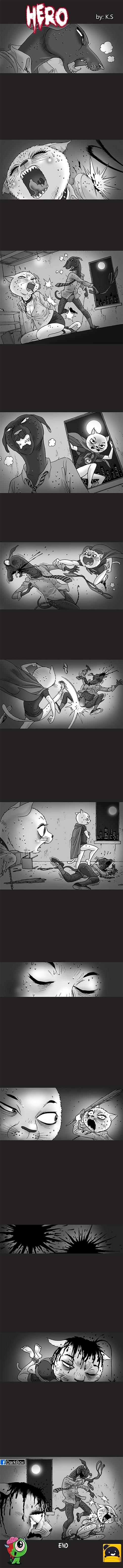 Silent Horror chap 104: Anh hùng