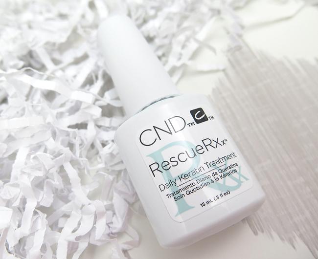 CND Rescue RXx Daily Keratin Treatment Review