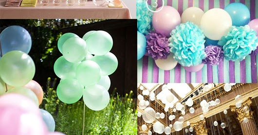 Paper And Party Love 5 Ways To Decorate With Balloons