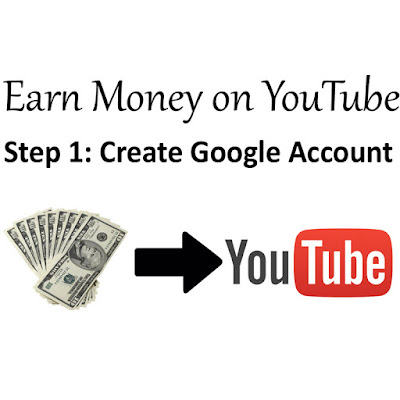Earn Money On YouTube Create Google Account
