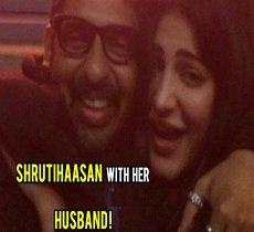 SHOCKING : Shrutihaasan is 'Married' – Posts her husband image on 'Instagram'