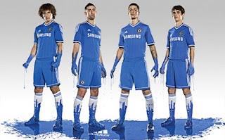 Terkini Inilah Penampakan Kostum Gres Chelsea 2013/2014
