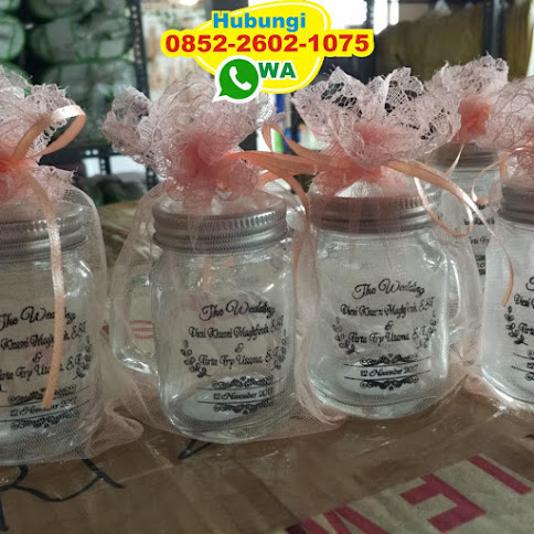 gelas drinking jar murah 50676