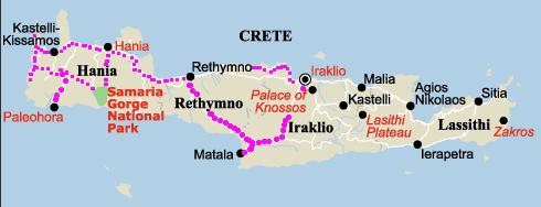 Cartina Creta.Mal Di Grecia Lettere Da Creta