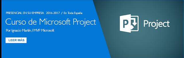 Curso de Microsoft Project presencial para empresas in company