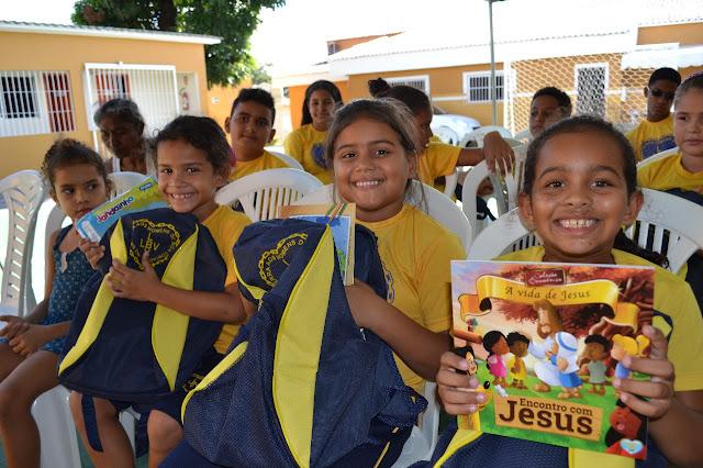 Iniciativa beneficia crianças e adolescentes em CG, Alagoa Grande e JP