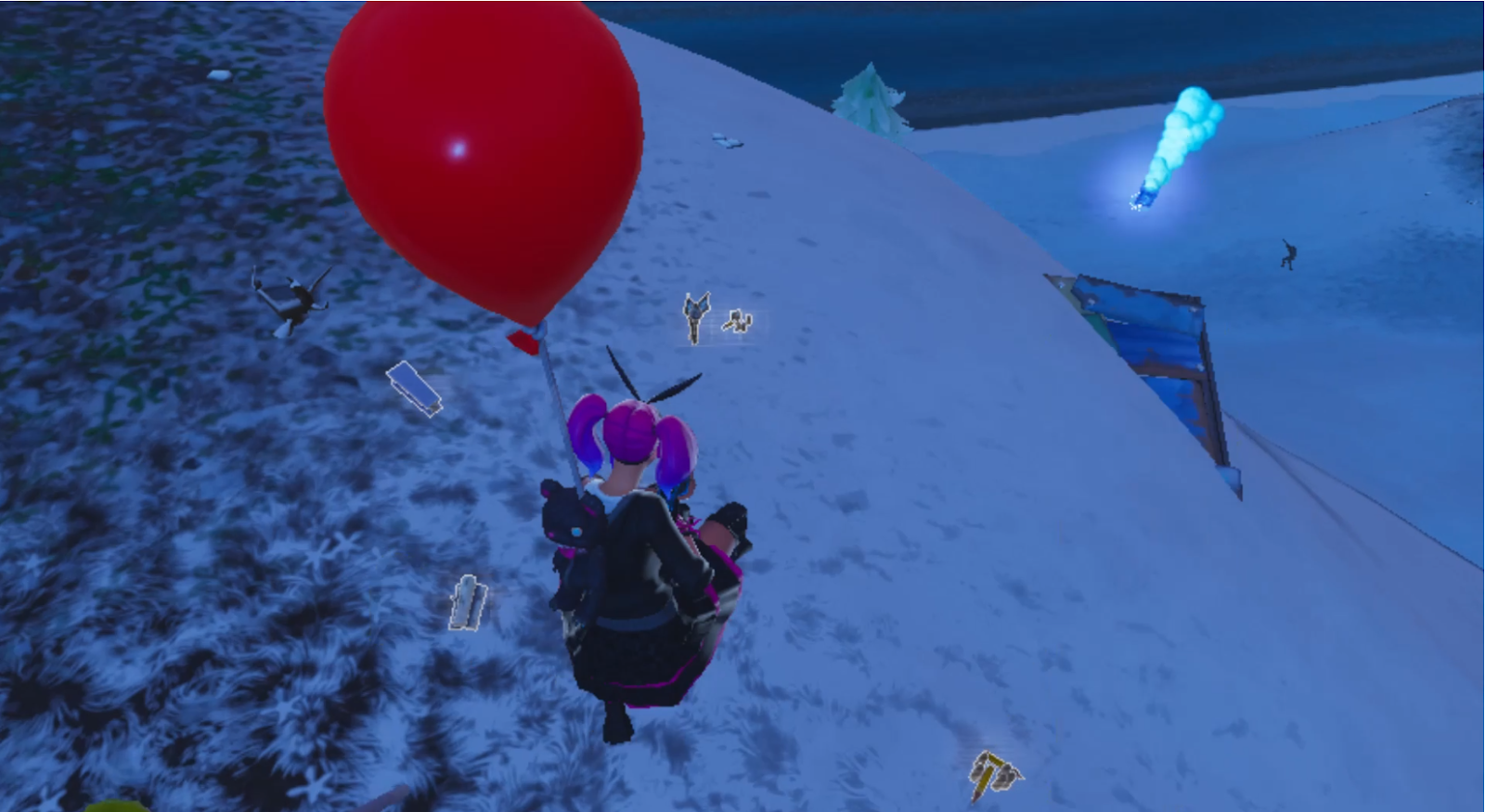 Fortnite Balloons Gameplay