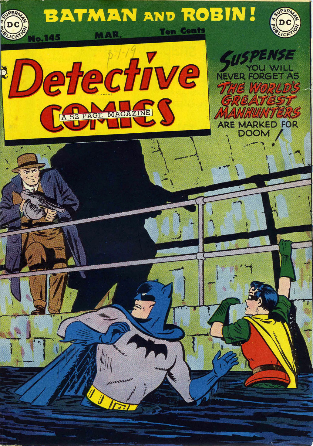 Read online Detective Comics (1937) comic -  Issue #145 - 1