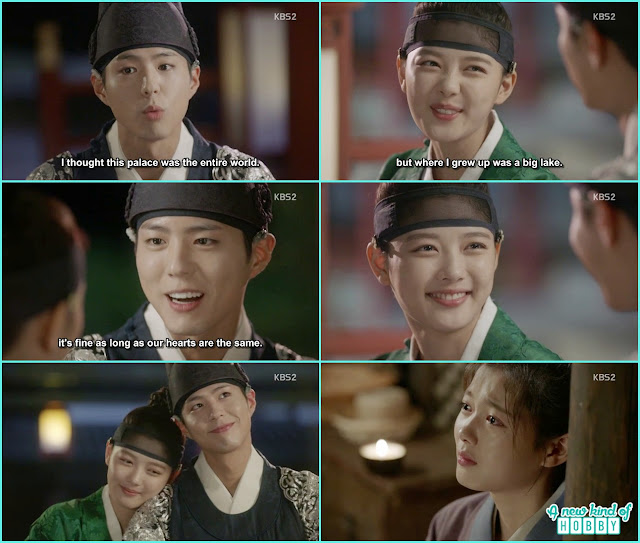 ra on remember crown prince while seeing the moon and started crying - Love In The Moonlight - Episode 14 Review (Eng Sub) - park bo gum & kim you jung