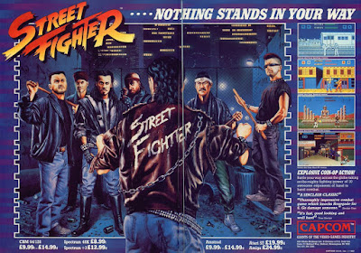 Street Fighter 30th Anniversary Collection - Street Fighter 1 - Advertisement poster