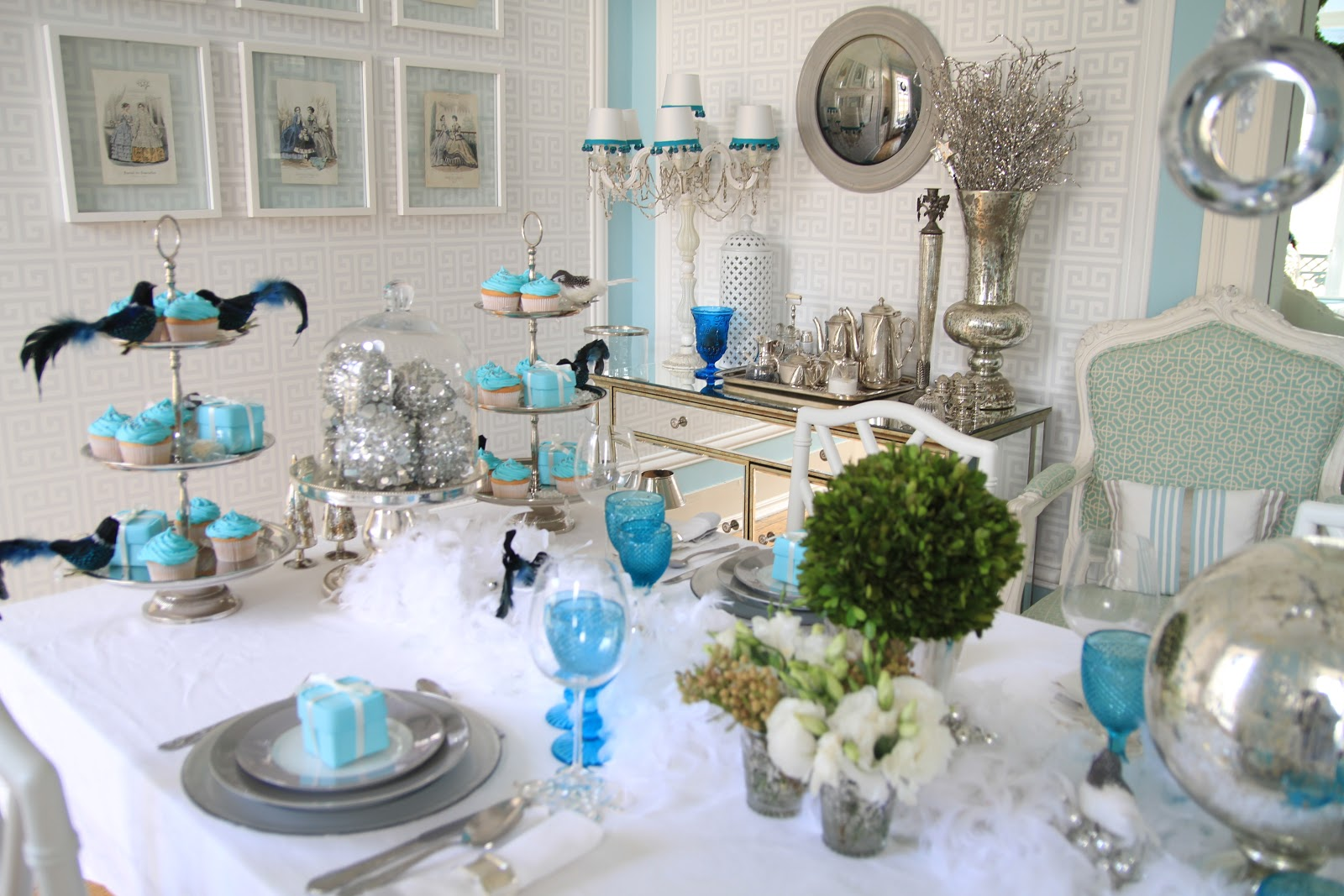 Home styling ana antunes my tiffanys christmas table