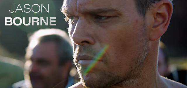JASON BOURNE: MATT DAMON