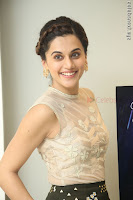 Taapsee Pannu in transparent top at Anando hma theatrical trailer launch ~  Exclusive 037.JPG