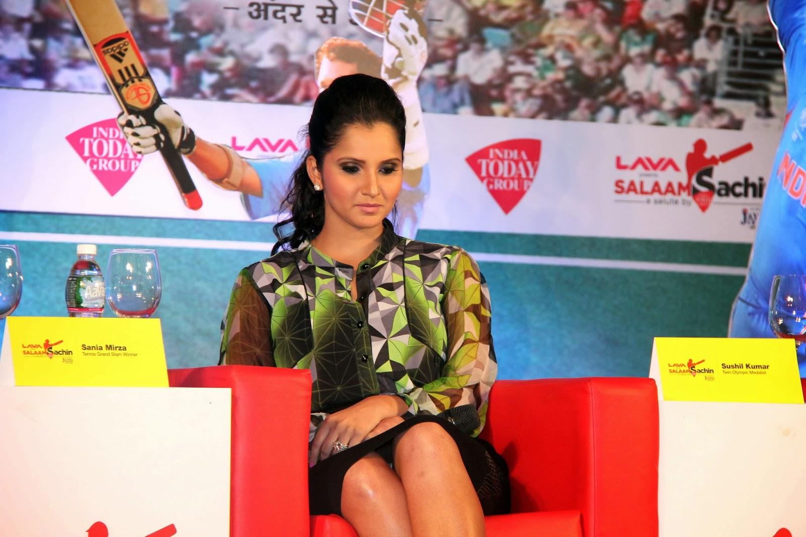 Sania mirza photos at india today group presents salaam sachin event