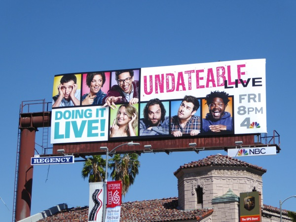 Undateable Live season 3 billboard